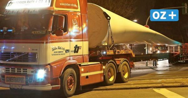 Grevesmühlen: Schwertransporte für Windkraft rollen ab 3.11. durch die Stadt
