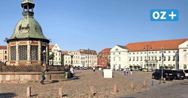 In Wismar gilt ab sofort eine Maskenpflicht auf dem Marktplatz