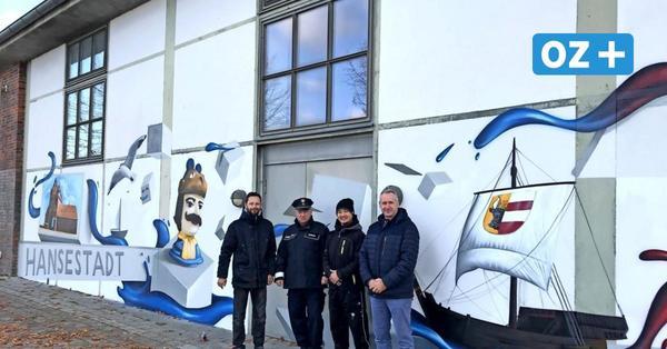 Wismar: Zwei Sprayer machen Werbung für legale Graffiti-Kunst