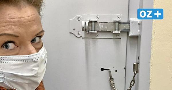 Verhaftet, durchsucht, Drogentest: So fühlt man sich in Grimmens Gewahrsamszelle