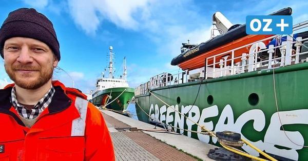 Greenpeace in Warnemünde: Das machen die beiden Schiffe im Ostseebad