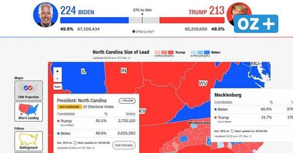 US-Wahlen 2020: Joe Biden gewinnt in Mecklenburg