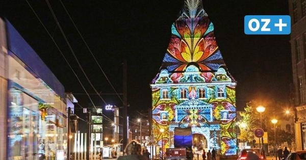 So schön erstrahlt Rostock noch bis Samstag: Die schönsten Fotos von der Lichtwoche
