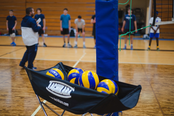 Running a volleyball skills camp and mini league has allowed our athletes to engage our community.