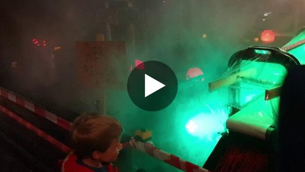 LEIMUIDEN - Halloween 2020 bij de familie Van der Ploeg aan de Leimuidense Nokweg (video)