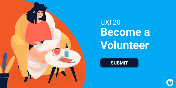 Be a part of the #UFam. Register on the UXI website to become a volunteer.