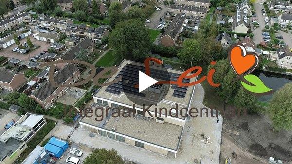 LEIMUIDEN - Rondkijken in het nieuwe schoolgebouw IKC De Lei (video)