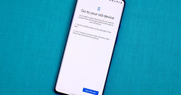 Got a new phone? Don't forget to transfer your Google Authenticator accounts