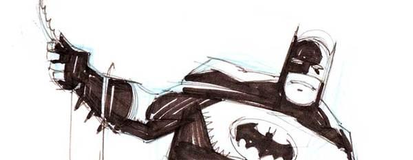 Mike Mignola - Batman Original Art