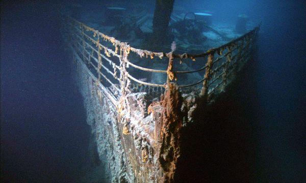 """... das Wrack der """"Titanic"""", zu dem Touristen bald mit dem U-Boot reisen sollen"""