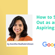 How to Stand Out as an Aspiring PM by Google GPM | Product School