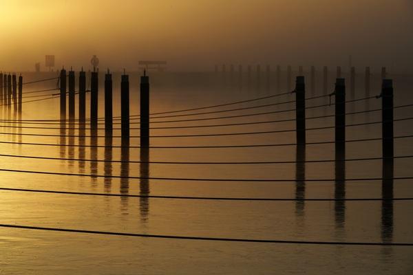 Herbstlicher Yachthafen in Zinnowitz. (Foto: Matthias Gründling)