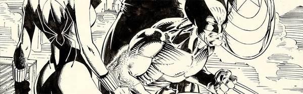 Jim Lee - Uncanny X-Men 268 Original Cover Art