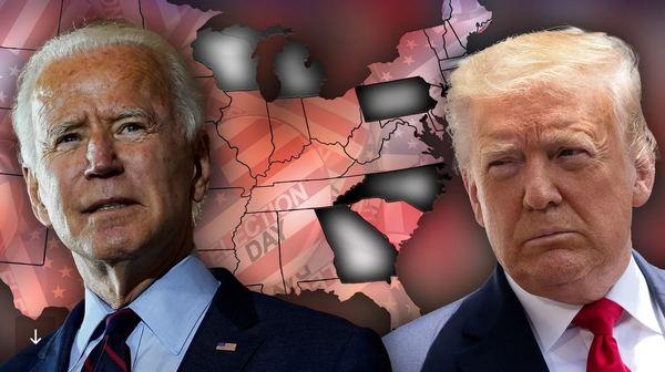 Biden kurz vor dem Ziel: So steht es in den entscheidenden Staaten