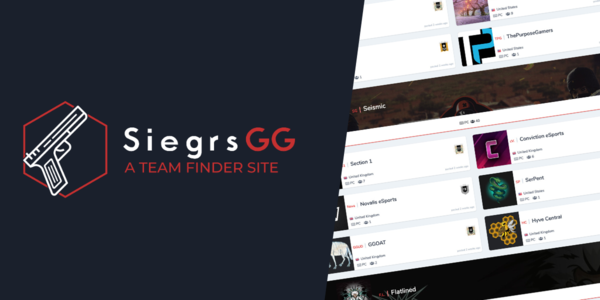 Siegrs.GG | Rainbow 6 Siege Team Finder