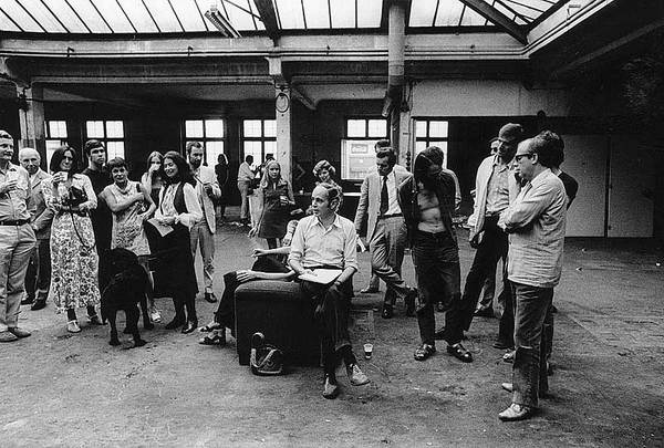 Lancement des travaux de l'Abaton Kino, le 1er juilet 1970 (W. Grassmann)