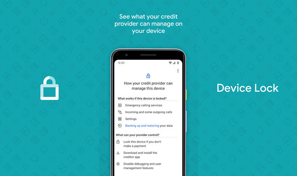 Google made an app for creditors to lock you out of your financed phone if you don't make payments