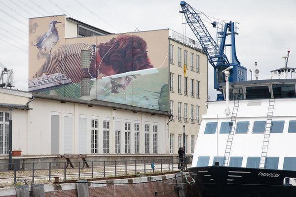Walls Can Dance : de l'art «pour rendre la ville plus colorée»