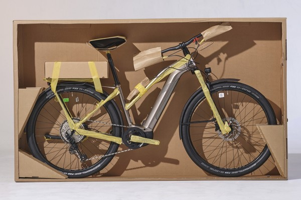 Cannondale introduces fully recyclable bicycle packaging