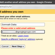 Forwarding emails from Gmail to Google Groups