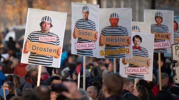 """Kommentar zur """"Querdenken""""-Demo in Leipzig: Bankrott für Sachsen, Bankrott für die Vernunft"""