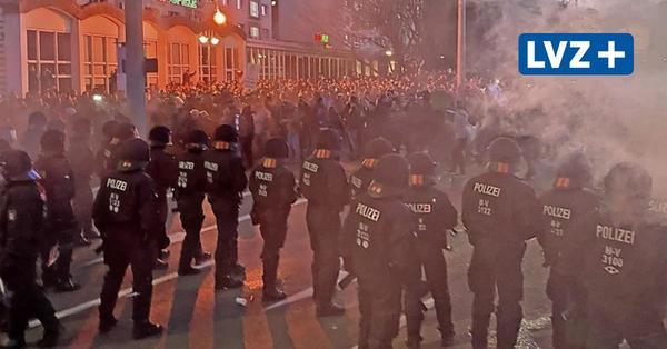 Als Leipzig außer Kontrolle geriet: Das Protokoll der Eskalation auf dem Innenstadtring