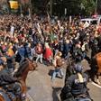 31 verletzte Beamte: Leipziger Polizei zieht nach Demos Bilanz