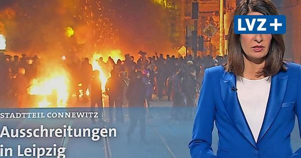 """Verquere Sicht: """"Tagesthemen"""" beginnen Bericht über """"Querdenker""""-Eskalation mit Connewitz"""