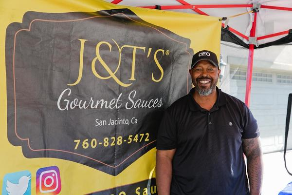 Retired Marine Achilles Murray is Sergeant of Gourmet Sauces