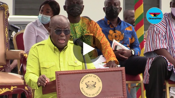 Akufo-Addo commissions 204 affordable housing units in Tema