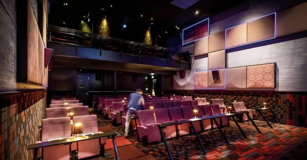 De bezoekers stromen de bioscoop uit | NRC