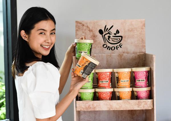 Kijk, dit zijn ze: de nieuwe Organic Instant Thai Rice Noodles.