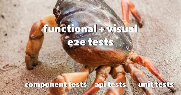 Le crabe du test