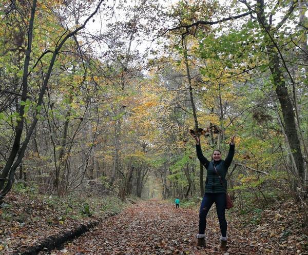 OZ-Volontärin Maria Baumgärtel empfiehlt den Kösterbecker Wald. (Foto: privat)