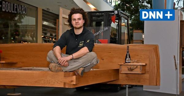 Möbel mit Wow-Effekt – junge Tischler und Tischlerinnen zeigen im Elbepark ihr Können