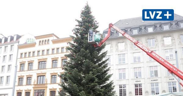 Leipziger Weihnachtsbaum wird geschmückt +++ 76 neue Corona-Fälle +++ Sieben-Tage-Inzidenz über 80