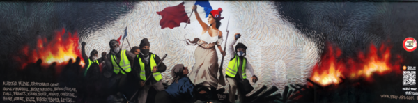 Mural de Pascal Boyart, em Paris.