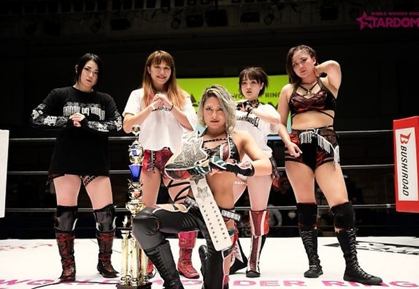 Stardom: «Goddess of Stardom Tag League 2020» Día 6