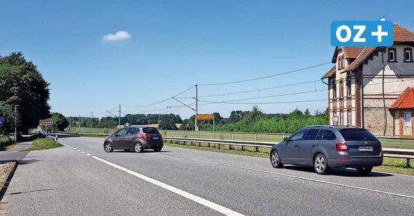 Vollsperrung auf der B105 von Kummerow bis Martensdorf: Hier kommen Sie noch lang