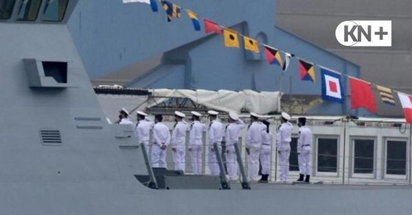 """Israel stellt in Kiel die Korvette """"Magen"""" feierlich in Dienst"""