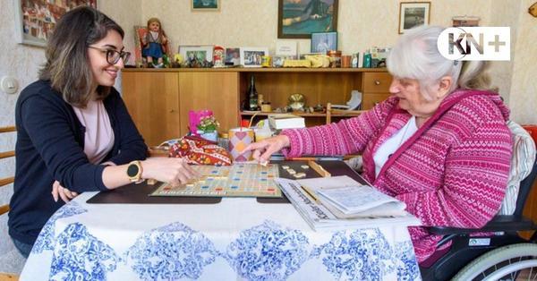 Scrabbeln und helfen statt Miete zahlen