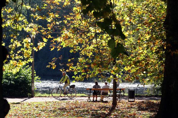Leipzig im Goldenen Herbst. Foto: André Kempner