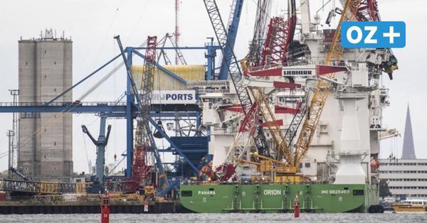 Rostock: 600-Tonnen-Teil des Liebherr-Unglückskrans geborgen