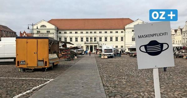 Maskenpflicht auf dem Wismarer Marktplatz: Das sagen OZ-Leser