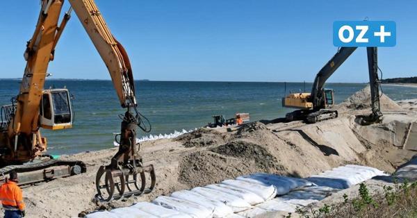 So soll Lubmins Küste in den kommenden Jahren sturmsicher sein