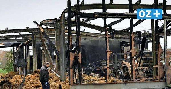 Großbrand in Züssow: Tatverdächtiger wieder frei