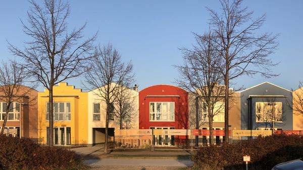 Blick auf das neue Wohngebiet (Foto: Helmut Kuzina)