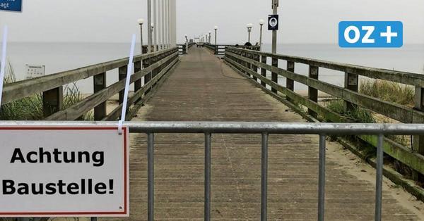 Darum ist in Binz die Seebrücke gesperrt