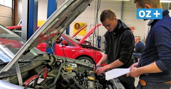 Nachwuchs für das Kfz-Handwerk in Stralsund auch künftig gesichert