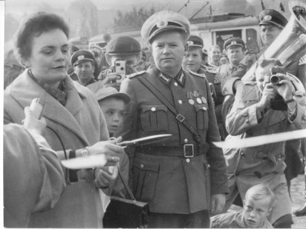 Potsdams Aufbau unter Brunhilde Hanke (1963). Foto: Karl Lucht